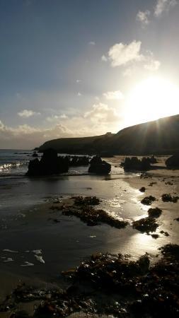 Carraigh Fhada House : Singing sands Strand gleich hinter dem lighthouse. Traumhaft!