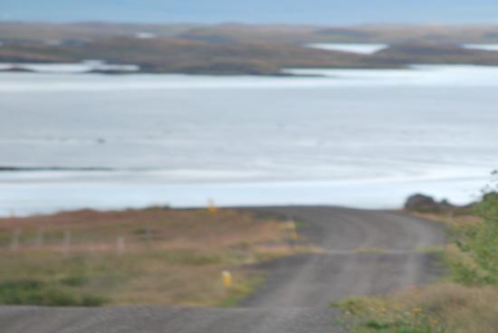 Budardalur, İzlanda: Gåtur med strand