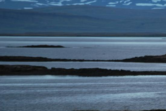 Budardalur, Islandia: Fjorden