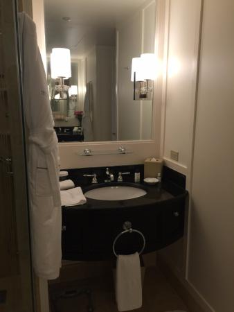 The Peninsula Chicago: Vanity on left side of Premiere Executive Suite