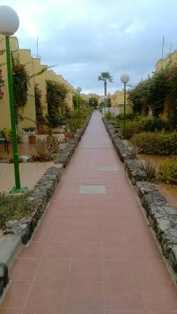 Views along the pathway at the beautiful complex of Castillo Mar