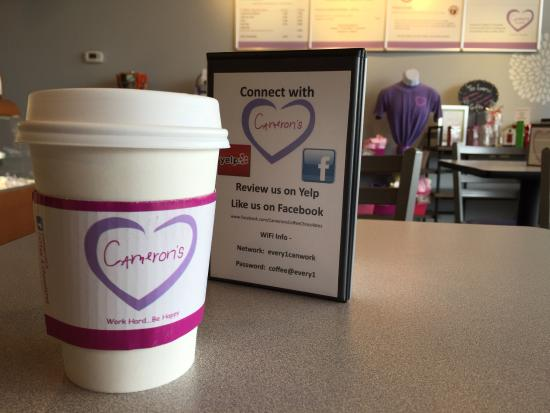 Cameron's Coffee & Chocolates - Picture of Cameron's Coffee ...