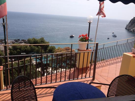 Hotel Weber Ambassador Capri: Vista camera