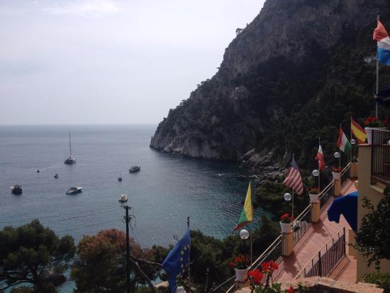 Hotel Weber Ambassador Capri: Panorama