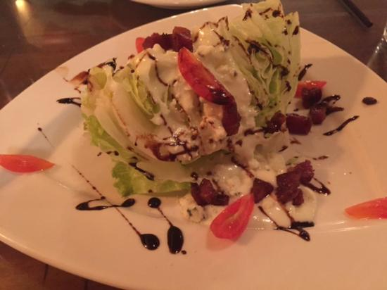 Anasazi Steakhouse & Gallery: Lettuce wedge