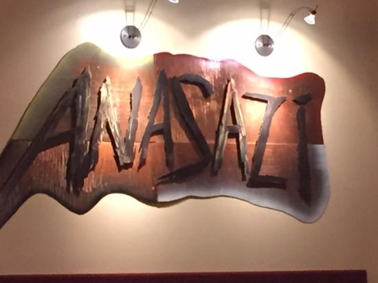 Anasazi Steakhouse & Gallery : Meeting Rooms decoration and sign