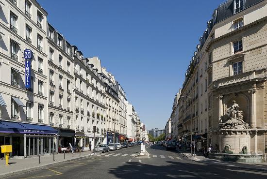 Timhotel Jardin des Plantes: La Rue Linné