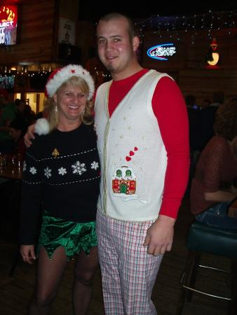 Durand, WI: Ugly Sweater fun