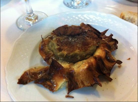Amazing fried artichoke foto di il giardino romano roma tripadvisor