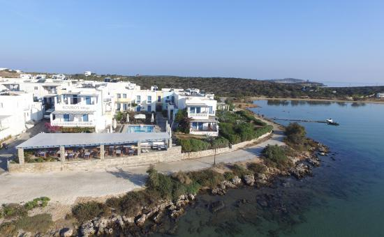 Kouros Village: Overview of the hotel