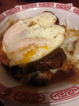 Zippy's Incorporated: The Loco Moco, egg broken