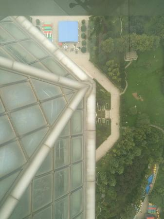 Pod Inn Xi'an Qujiang Convention Center TV Tower: 西安 Xi'an TV Tower, nice view for 70RMB
