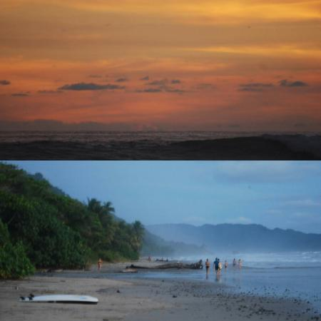 Perfect Sunset School: We surf here every day!