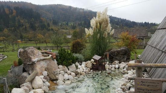 Srednja vas v Bohinju, Eslovenia: Yard