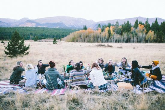 Alma, CO: a fancy gathering