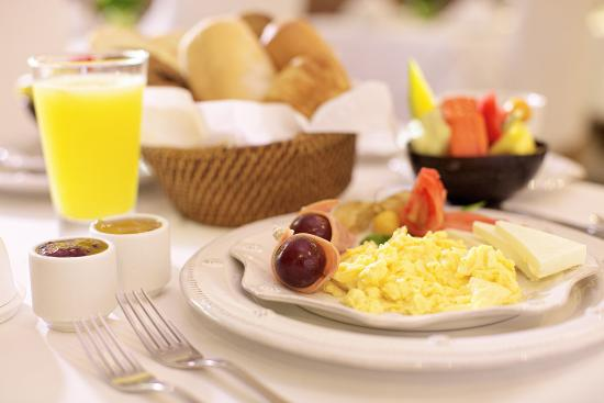 Casablanca B&B: Desayuno tipico