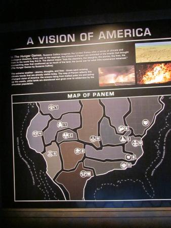Interactive Map of Panem - Picture of The Hunger Games ...