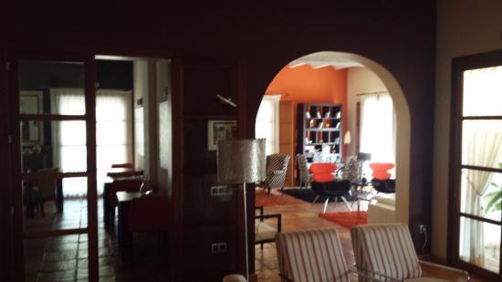 Alcalali, Espagne : vista del salón