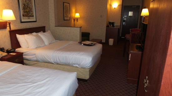 Broadway Hotel Aurora/Naperville: Standard Two Full Sized Beds