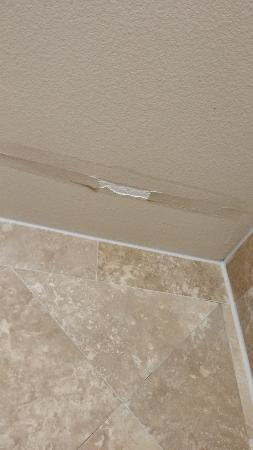 Holiday Inn Express & Suites Corpus Christi: Water damage room 308