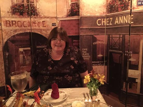 Fort Fairfield, ME: Wife enjoying her birthday dinner