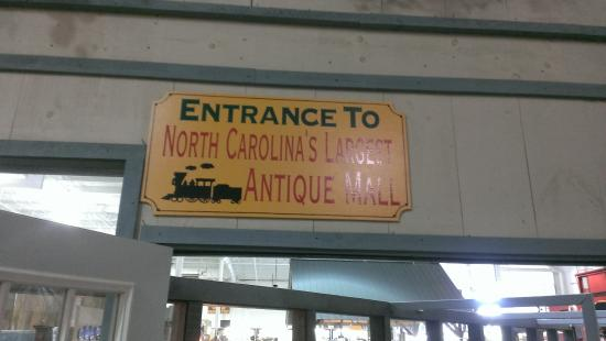 Whistle Stop Mall: Largest antique mall in NC