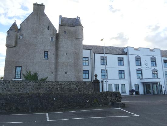Glenann Room In The Original Tower Picture Of Ballygally Castle
