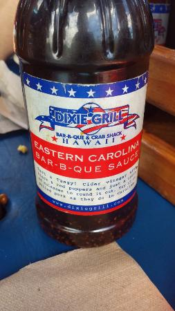 Southern Style BBQ Sauce, Dixie Grill, Hawaii - Picture of Dixie's
