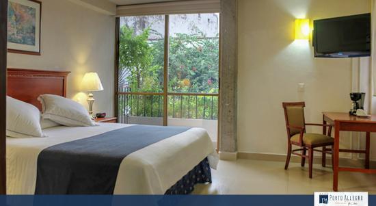 Hotel Porto Allegro: Vista desde la habitación