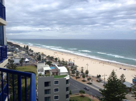 Surf Regency Apartments: Day view from the balcony