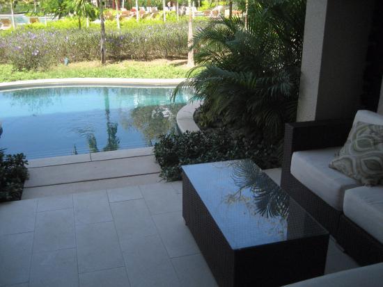 Dreams Las Mareas Costa Rica Walk In Pool Outside Room