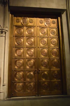 Cathedral Church of Saint John the Divine bronze doors & bronze doors - Picture of Cathedral Church of Saint John the ... pezcame.com