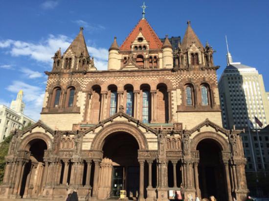 Trinity church richardson romanesque architecture for Richardson architect