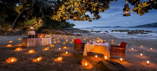 Paresa Resort Phuket: Paresa's Romantic Beach Dining