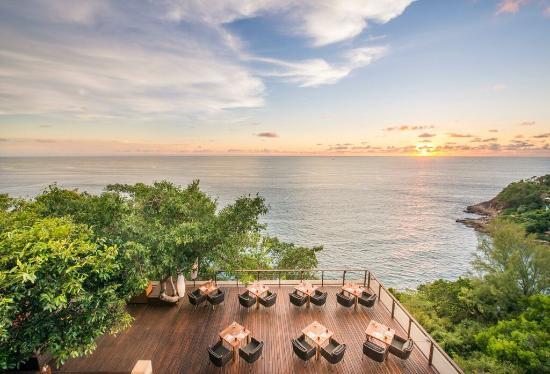 Paresa Resort Phuket: Sunset Dining