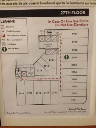 Floorplan - Picture of Embassy Suites by Hilton Niagara Falls ...