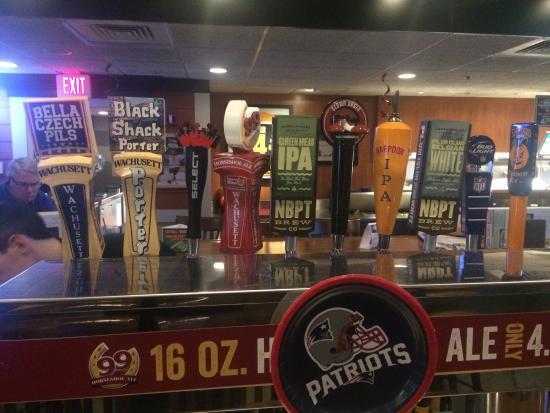 99 Restaurants New England Craft Beer Handles
