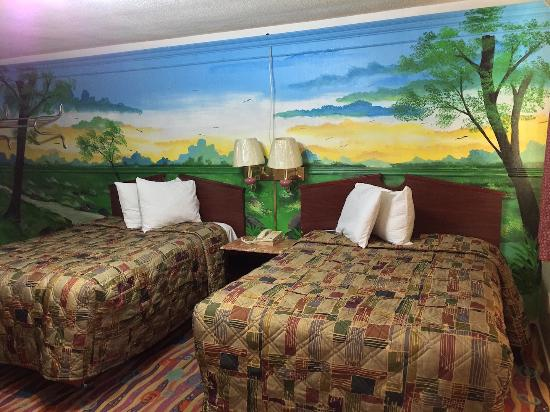Bestway Motel: 2 Double Beds