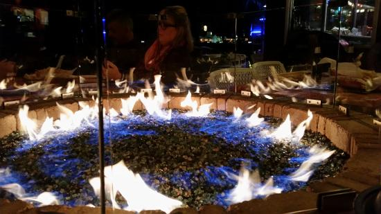 Fajita Jack's: Restaurant fire pit - Restaurant Fire Pit - Picture Of Fajita Jack's, Conroe - TripAdvisor