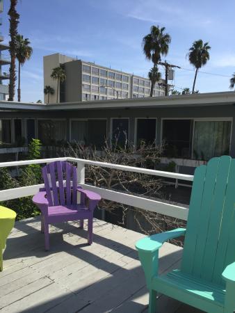 Seaview Hotel: Sunny deck