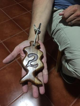 Siempreverde B&B: Room key