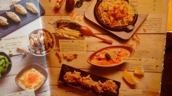 Zenbu Restaurant Menu