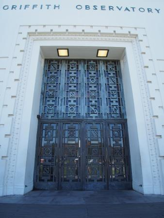 The EPIC front doors at the Griffith Observatory - Picture of ...