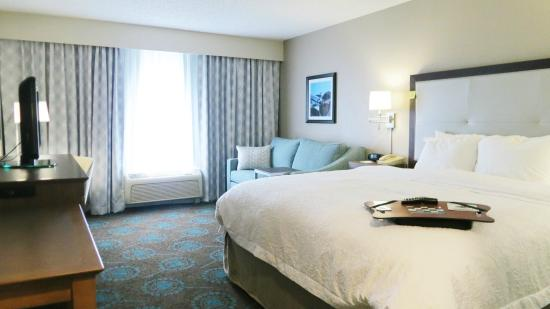 Hampton Inn Titusville / I-95 Kennedy Space Center: Newly Renovated King Room with Sofa Bed