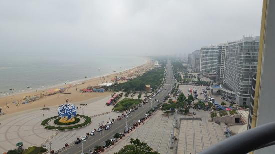 Haiyang, الصين: ホテルからの眺め