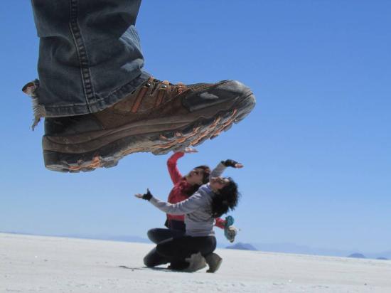 Uyuni, بوليفيا: salar de uyuni