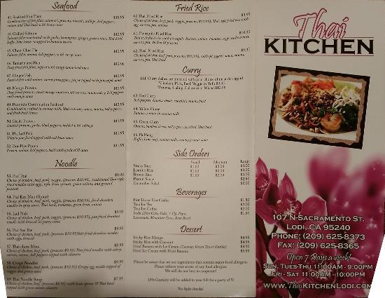 thai kitchen, lodi - restaurant reviews, phone number & photos