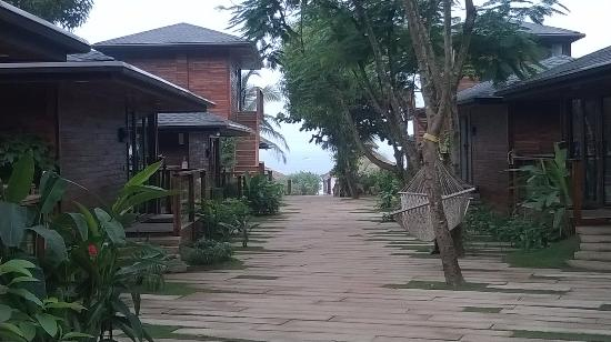 The Baga Beach Resort View From Hotel
