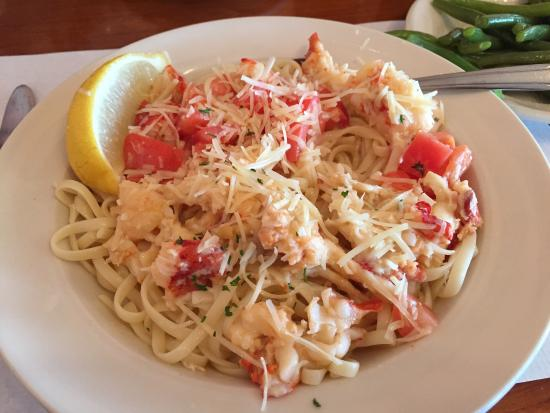 Fish Shack Restaurant: Lobster-Pasta