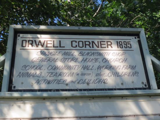 Image result for orwell corner